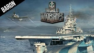 World of Warships Aircraft Carrier Gameplay - How To Use a Carrier in WOWS CBT thumbnail