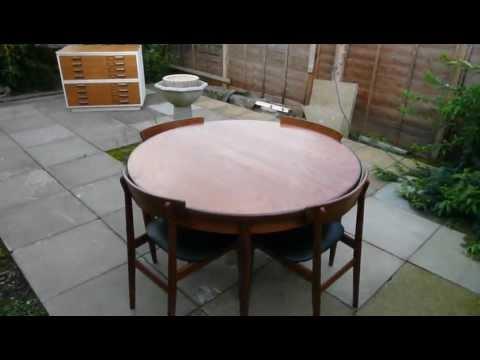 G Plan Teak Table and Chair Set Vintage Retro Furniture