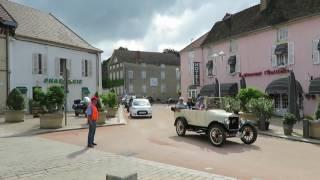 Concentration Ford T Beaune 2016 - Arrivée sur la place (Partie 3)