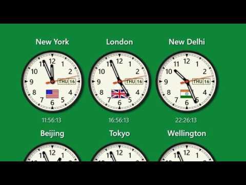 World Clock for Windows PC - Calendar, Alarms, Time Converter