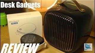 REVIEW: Mini V Smart Heater Fan // Mini Vacuum Cleaner