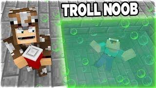 TẠI SAO NOOB BỊ CHÔN DƯỚI HỒ AXIT TRONG NGÀY PHỤ NỮ 8/3!! (Channy Minecraft Troll Noob Bằng Hồ axit)