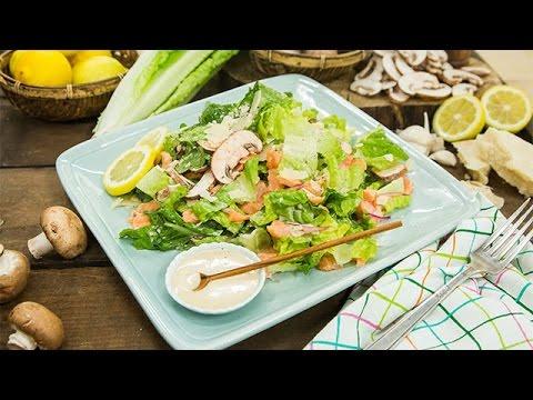 Darin Brooks Salmon Cesar Salad  Hallmark Channel