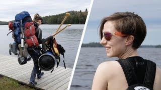 BIG ALGONQUIN CANOE TRIP - DAY 1 - LAKE OPEONGO + NEW ANNOUNCEMENT! (4K)