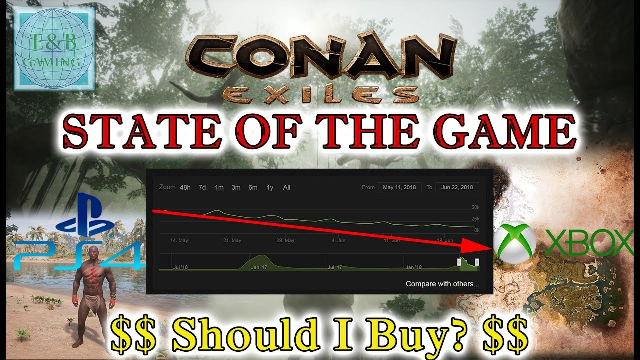 conan exiles state of the game post launch xbox ps4 pc should i buy youtube. Black Bedroom Furniture Sets. Home Design Ideas