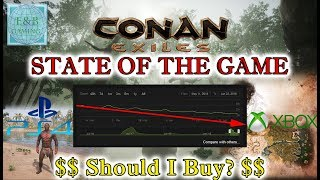 Conan Exiles - STATE OF THE GAME - POST LAUNCH - XBOX-PS4-PC - Should I buy ?