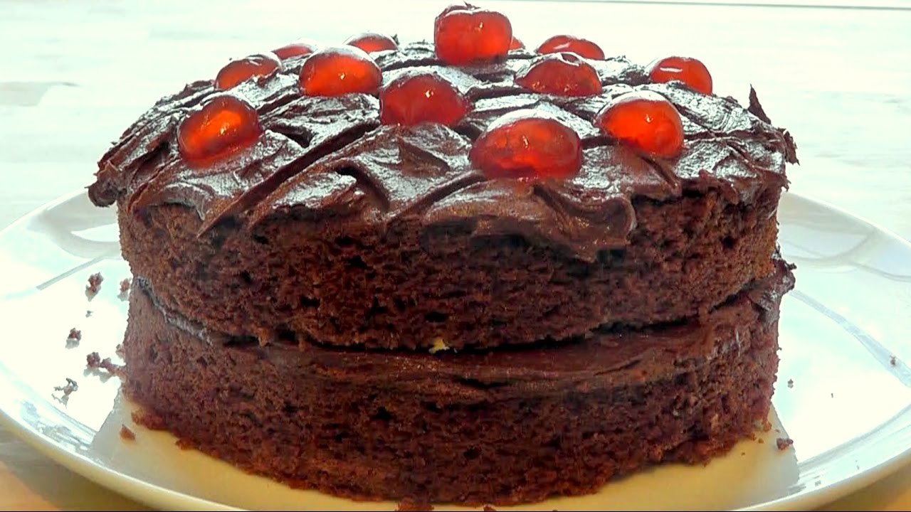 Mums Chocolate Cake How To Make Simple Easter Recipe Youtube