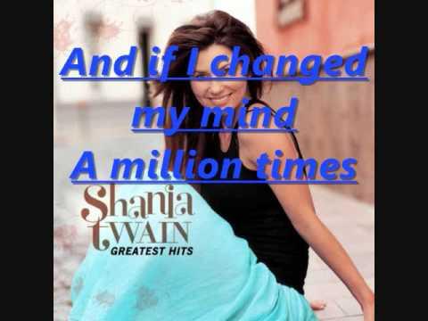 Any Man Of Mine lyrics - Shania Twain - Genius Lyrics