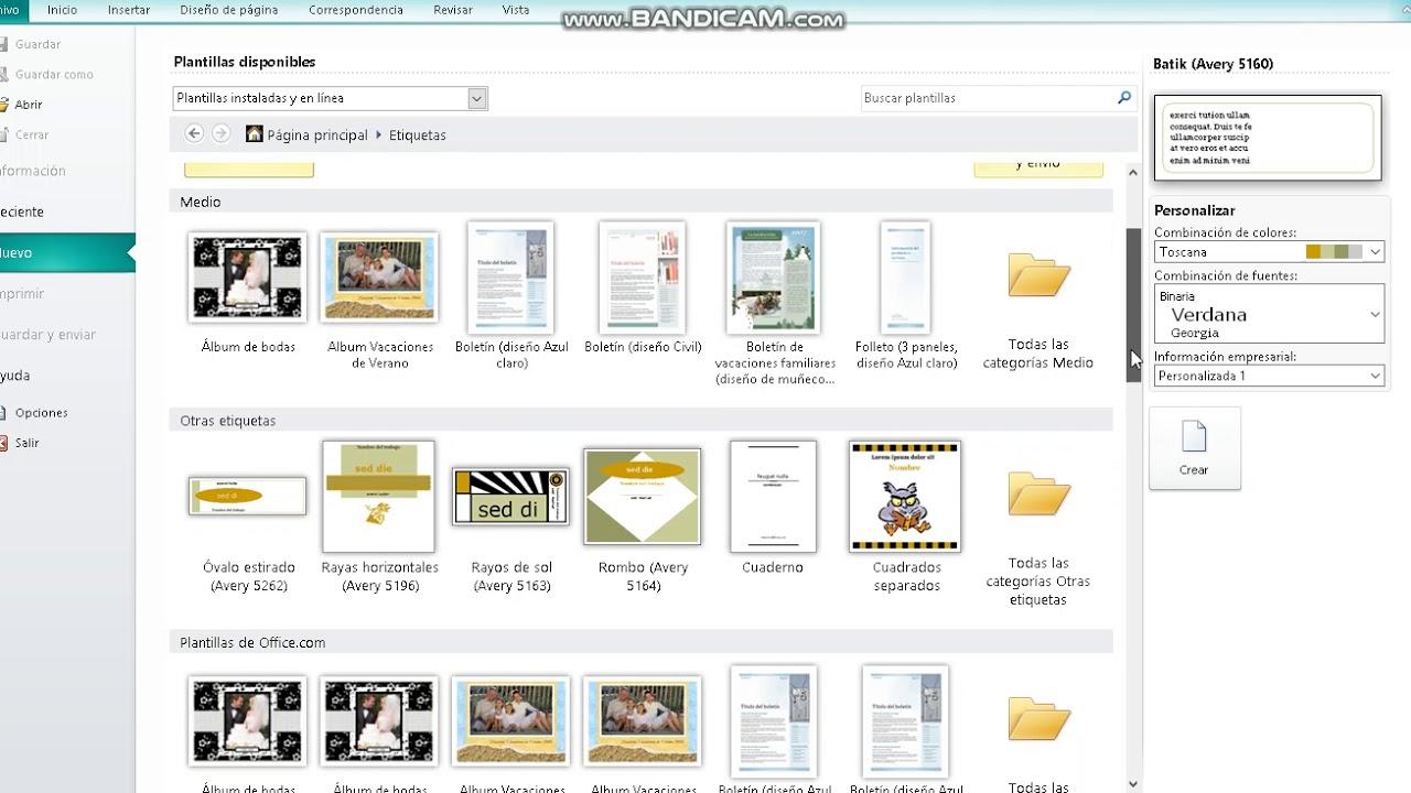 Lección 3 Publisher Creación de Etiquetas - YouTube