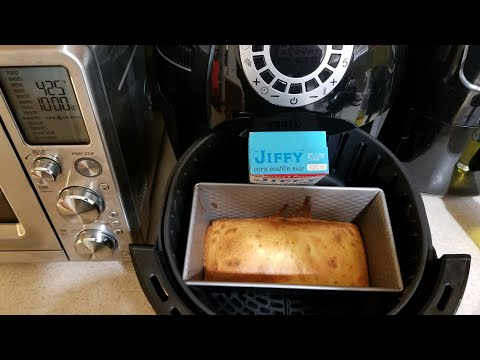 Air Fryer Jiffy Cornbread Aldi Crofton Bake Loaf Pan 2017 Cooks Essentials Airfryer 5.3qt