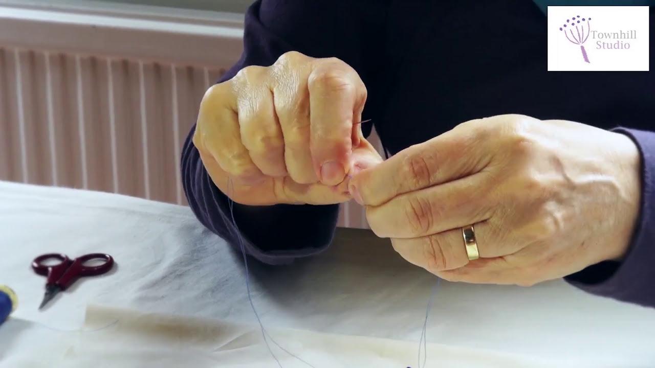 Shibori Stitch Resist Sewing - Part 1