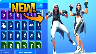 'NEW' CLUTCH Skin Showcase With Dance Emotes! Fortnite Bataille Royale