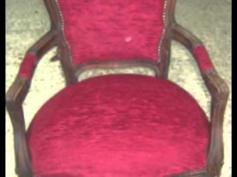 Restauro sedia rossi frank youtube for Rivestire una vecchia poltrona