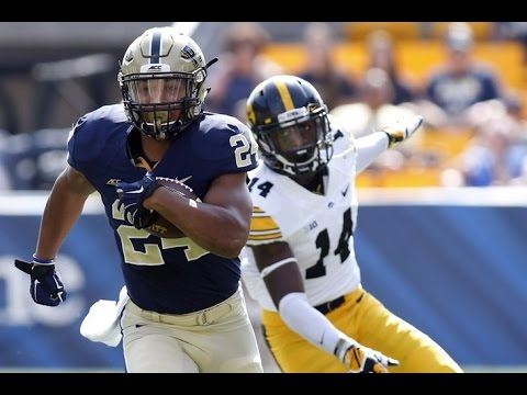 James Conner (Pittsburgh) vs. Iowa (2014)
