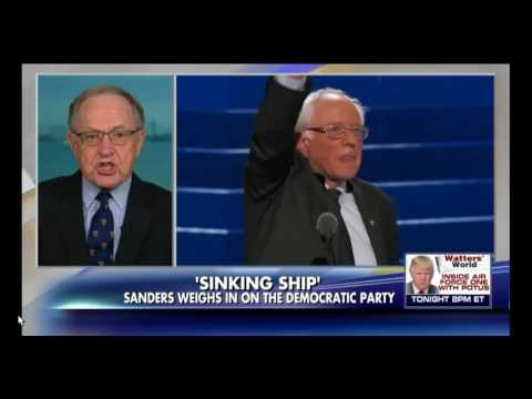 Liberal Alan Dershowitz: Democrats 'Doomed' if They Move Further to the Left