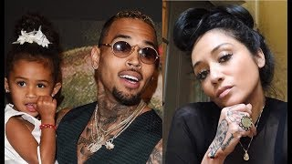 Nia Guzman Denies That Chris Brown Owes Child Support