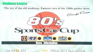 Gran Turismo 3: A-Spec - Part #10 - 80's Sports Car Cup (Beginner)