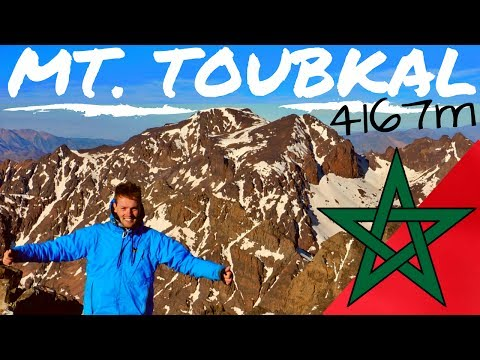 CLIMBING the HIGHEST Mountain in NORTH AFRICA // MT. TOUBKAL, Morocco 4167m المغرب