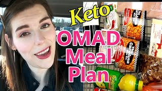 KETO: OMAD Meal Plan and Shopping Haul!