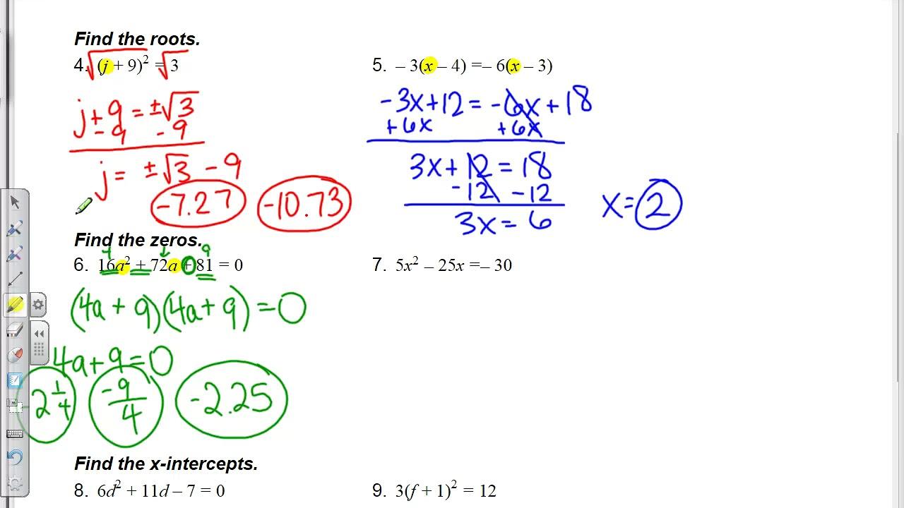 worksheet Algebra 1 Solving Equations Worksheet algebra 1 concepts solving equations worksheet youtube worksheet