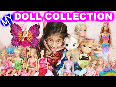 My BARBIE DOLLS Collection - Toys Collection | MyMissAnand