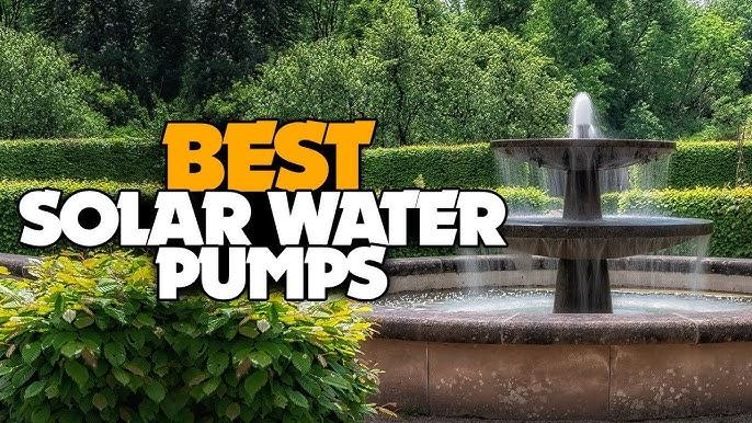 Fix Solar Powered Fountain Water Pump, Outdoor Water Fountain Pump Repair