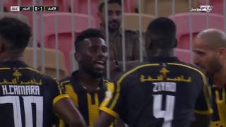ملخص مباراة الاتحاد 1 : 2 الحزم الجولة | 6 | دوري الأمير محمد بن سلمان للمحترفين 2019