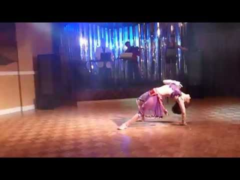 Acro Belly Dance, Olga Kobzar Performance