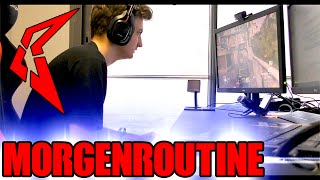 Morgenroutine eines Call of Duty Spielers