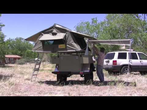 Setting up packing away a fiamma awning youtube for Stuoia camper fiamma