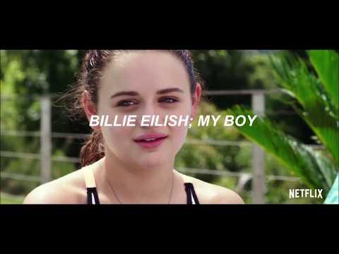 『Billie Eilish ; My Boy』