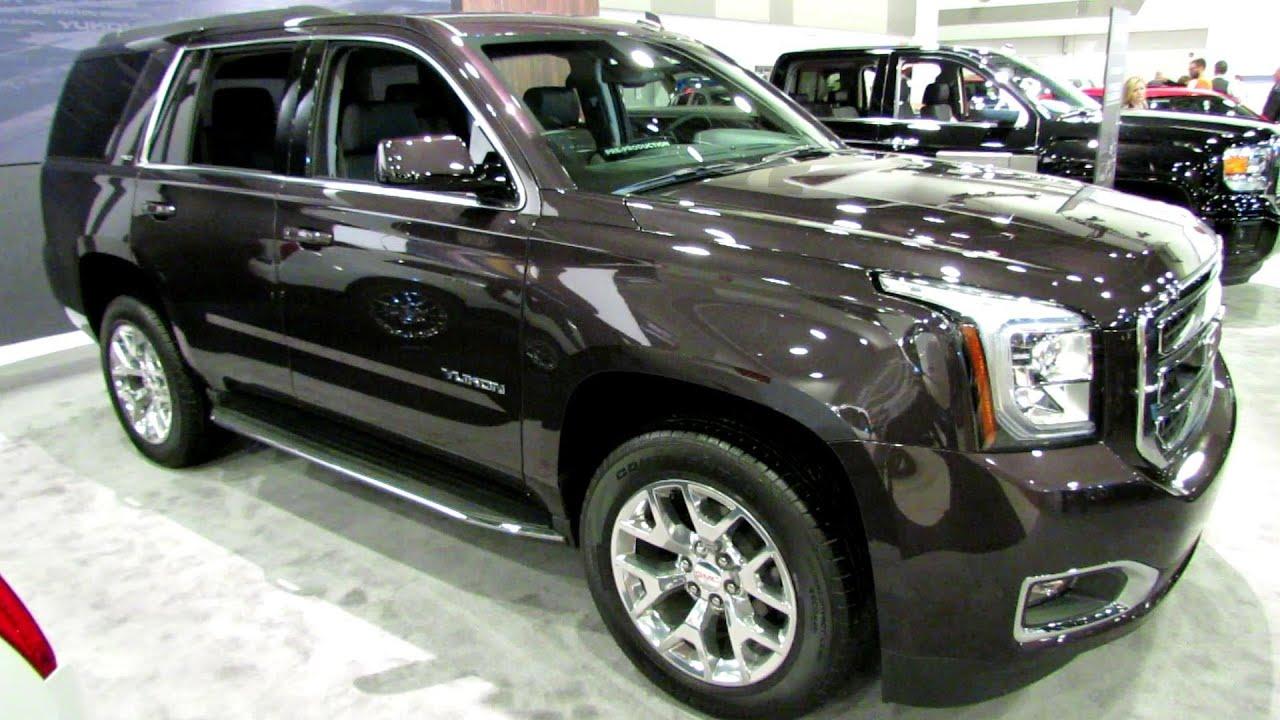 2015 Gmc Yukon Xl Slt Exterior And Interior Walkaround