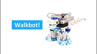 Walkbot from ArtecRobo Education Set Complete Edition - product video-by Artec Co., Ltd.