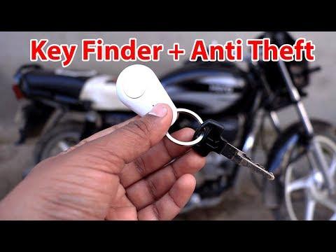anti lost alarm key finder with gps tracker