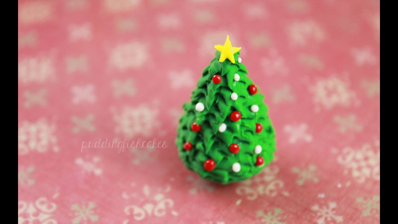 Polymer Clay Christmas Tree Decorations.Diy Christmas Tree Polymer Clay Tutorial
