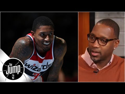 download Bradley Beal 'would look good in a Lakers uniform' - Tracy McGrady | The Jump