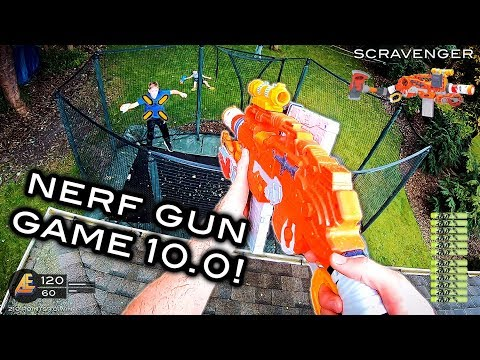 NERF GUN GAME 10.0 (Nerf First Person Shooter!)