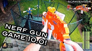 NERF GUN GAME 10.0 Nerf First Person Shooter!