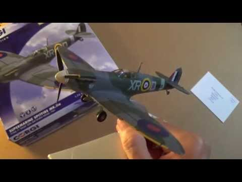 Corgi Diecast Limited Edition 1941 Super-marine Spitfire Review In 1:72 Scale