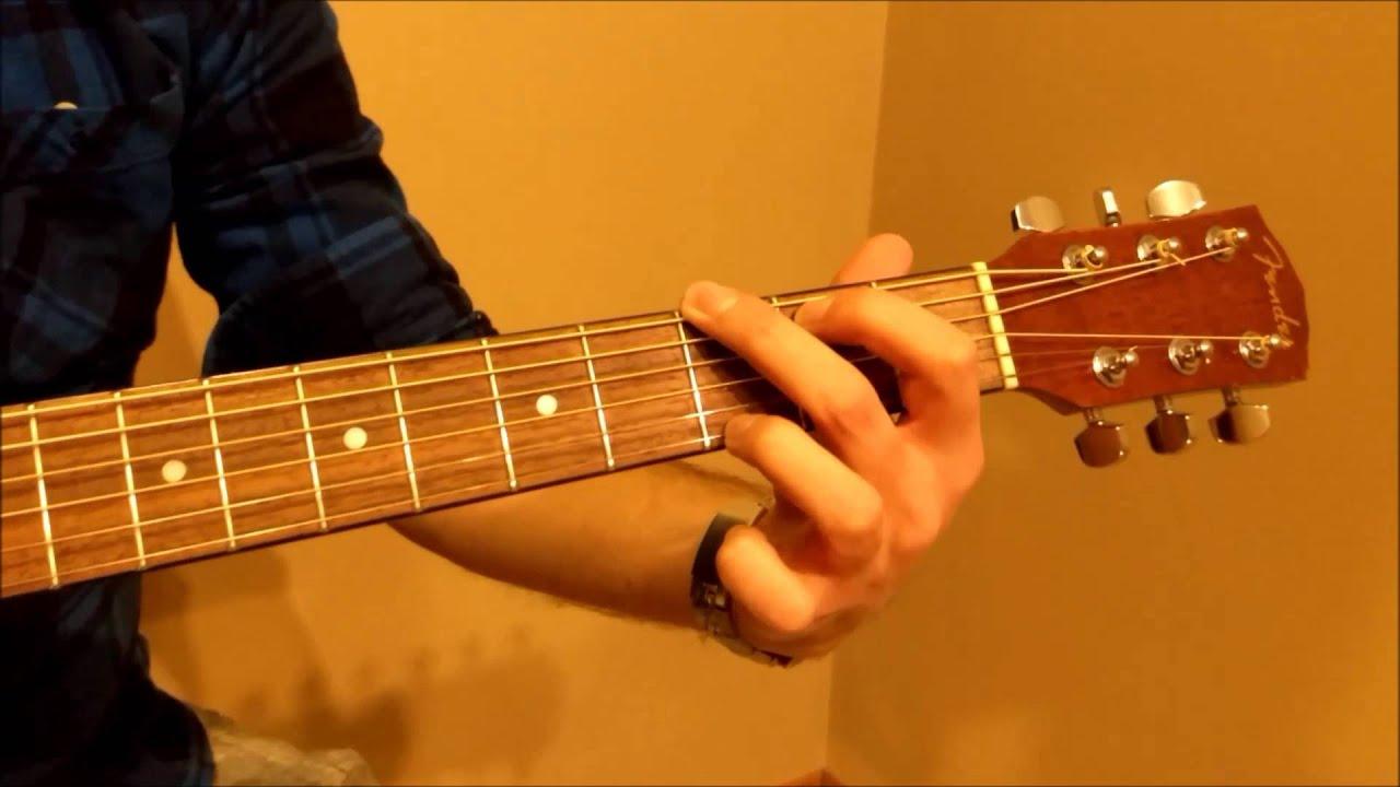 How To Play G Major Chord Beginner Youtube