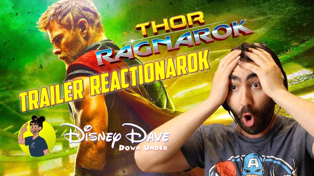 THOR RAGNAROK - TEASER TRAILER REACTION - YouTube