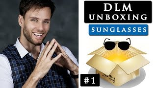 UNBOXING SUNGLASSES from Christopher Cloos | DLM unboxing #1