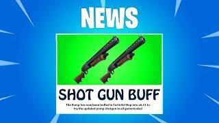 HUGE Shotgun BUFF (DOUBLE PUMP COMING BACK?) Double Pump Is Back? Season 6 v6.31 UPDATE (How To)