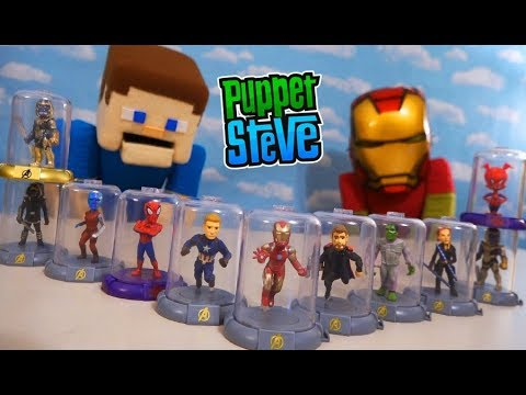 DOMEZ Marvel Avengers End Game Series 1 Collectible Blind Bag Figure **NEW**
