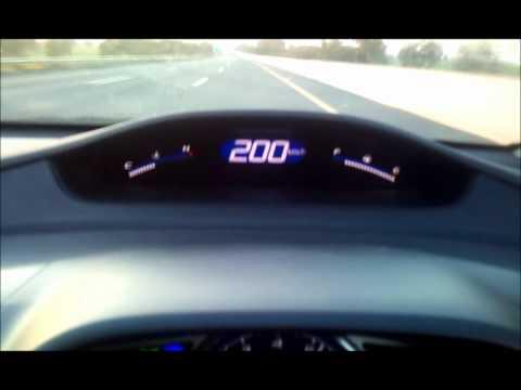 Crossing 200 In Honda Civic Reborn.wmv