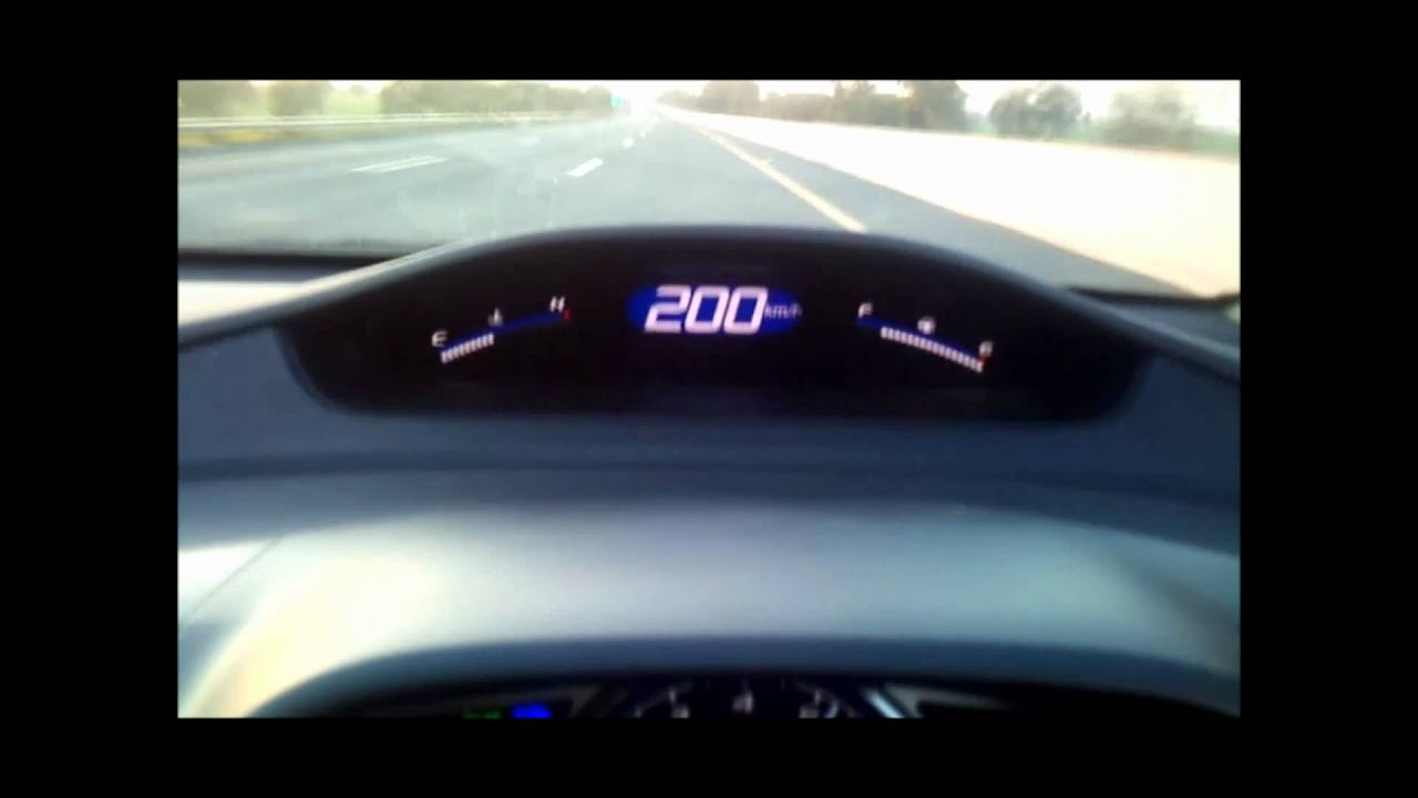 Crossing 200 in honda civic reborn.wmv - YouTube