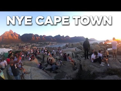Epic New Years Eve Beach Party in Cape Town | Summer Sensation 2017