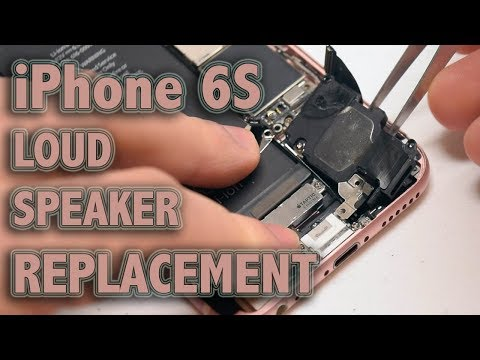 iPhone 6S Loud Speaker Replacement