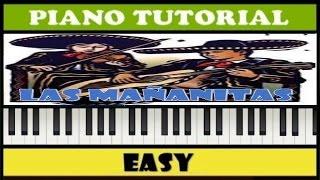 Las Mañanitas / Piano Tutorial / Notas Fáciles (Synthesia)