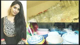 My Small Crockery & Kitchen Accessories Collection, Vinod cookware collection,Cooking Essentials